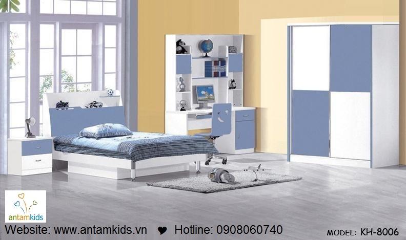 Phòng ngủ trẻ em KH-8006 đẹp thiên thần   PHONG TRE EM ANTAMKIDS
