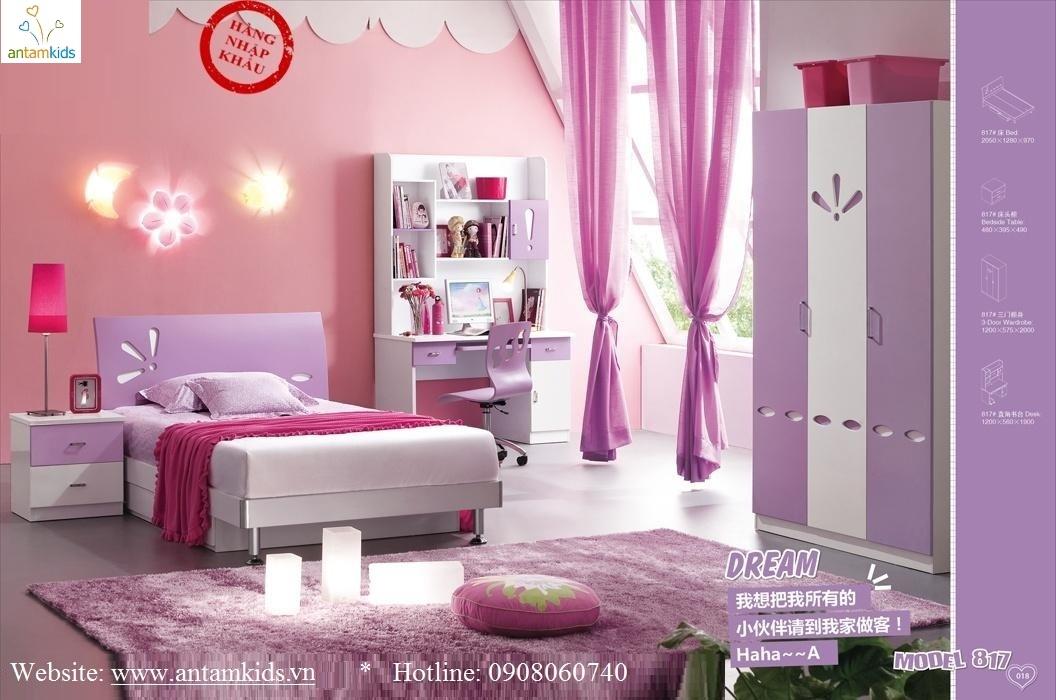 Phòng ngủ trẻ em H817