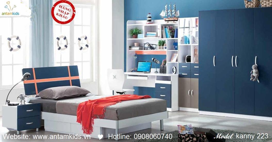 Phòng ngủ cho bé Kanny 233 đẹp thiên thần | PHONG TRE EM ANTAMKIDS