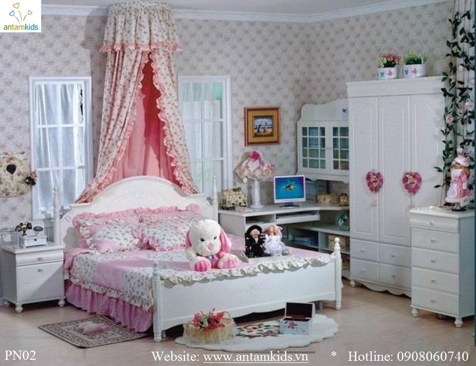 Phòng cưới PN02 đẹp & sang trọng | Noi That Phong Ngu AnTamKids