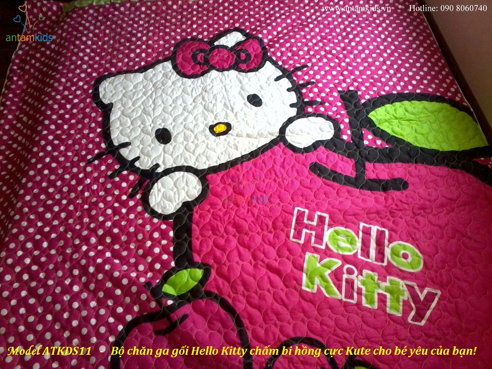 Bo chan ga goi Hello Kity cham bi hong - Men drap tre em AnTamKids  01