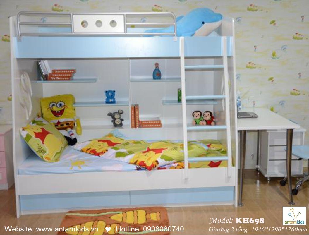 Giường tầng trẻ em KH698