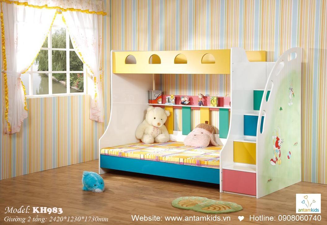 Giường tầng trẻ em KH983