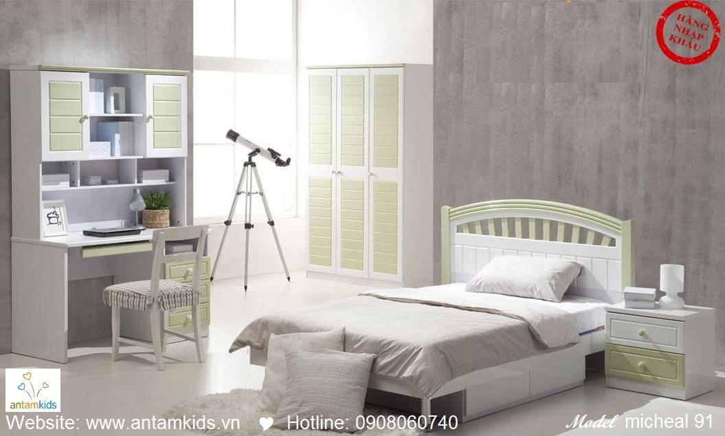 Phòng ngủ cho bé Michael 91 đẹp thiên thần   PHONG TRE EM ANTAMKIDS