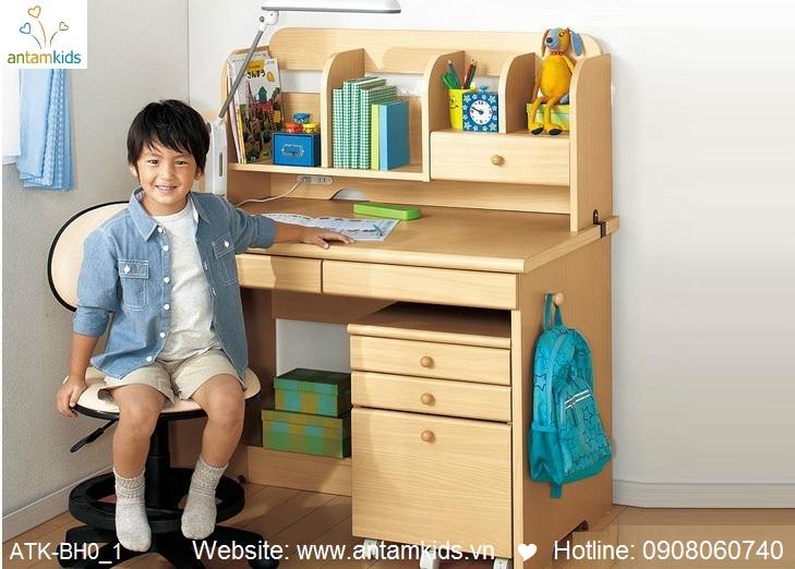 Bàn học trẻ em ATK-BH01 xinh giá tốt nhất  Noi That Tre Em – AnTamKids