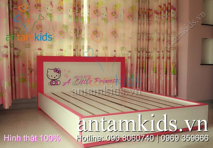 Nội thất bé yêu tp HCM, Phòng ngủ cho bé trai bé gái, Giường hình xe ô tô, Giường công chúa, Giường Hello Kitty, Giường tầng công chúa, Giường ngủ Angry Birds, Bàn học trẻ em, tủ áo cho bé trai bé gái Antamkids.vn