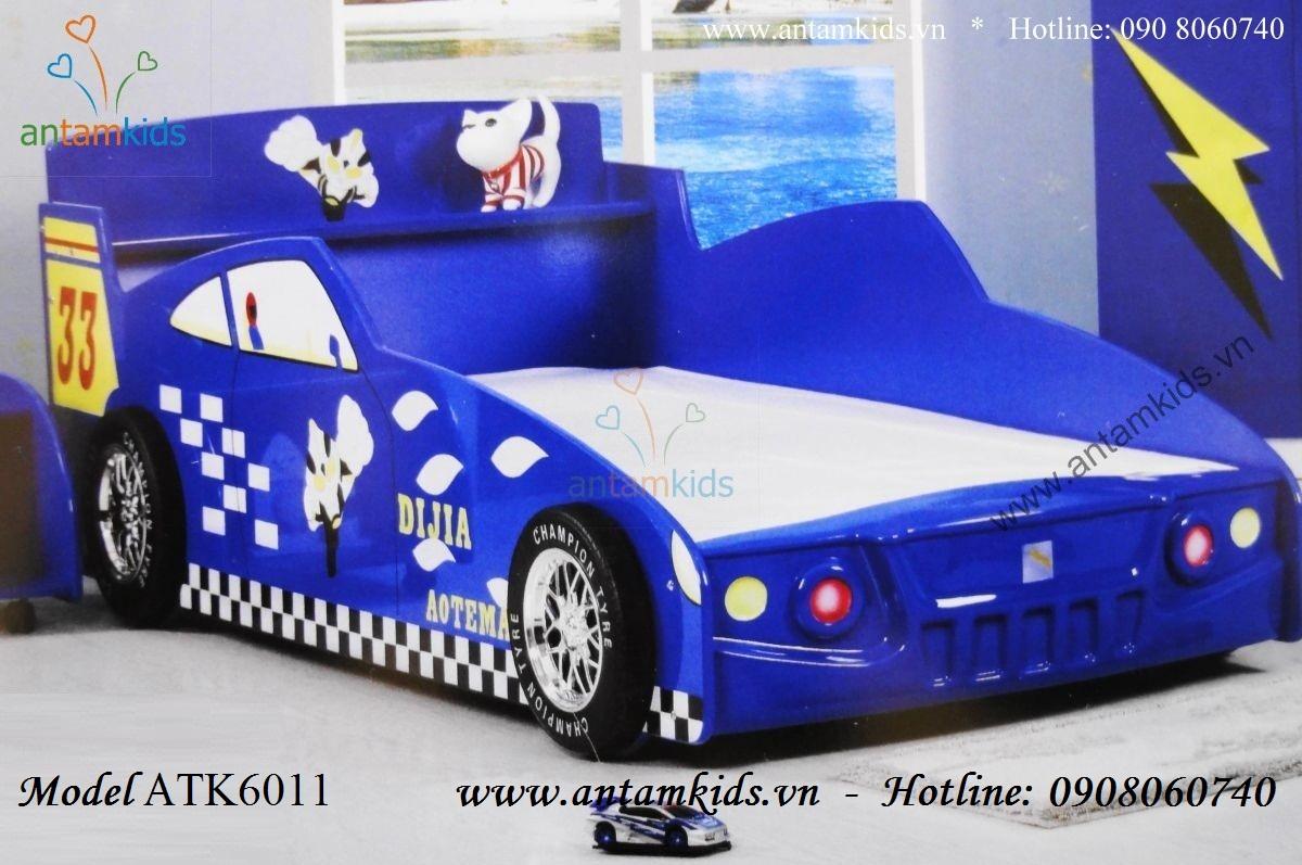 Giường hình xe ô tô cho bé trai, Giường hình xe ô tô trẻ em, Giường hình ô tô