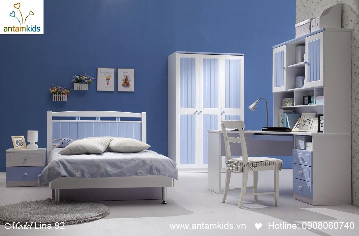 Bộ phòng ngủ cho bé trai  bé gái Tomi & Niki tuyệt đẹp nhập khẩu mới nhất 2013 - Nội thất trẻ em AnTamKids.vn
