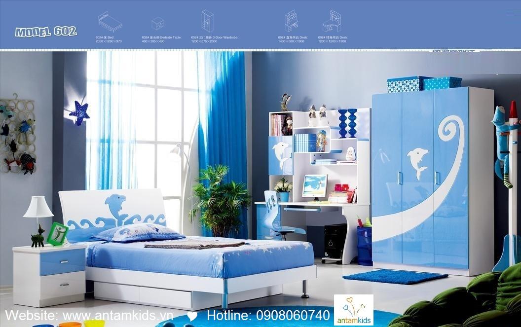 Phòng ngủ trẻ em H602