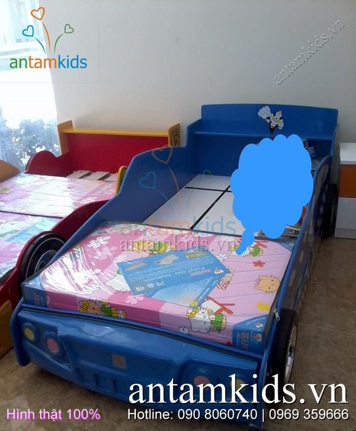 Giường ô tô cho bé trai tuyệt đẹp - Giường xe hơi cho con trai AnTamKids.vn