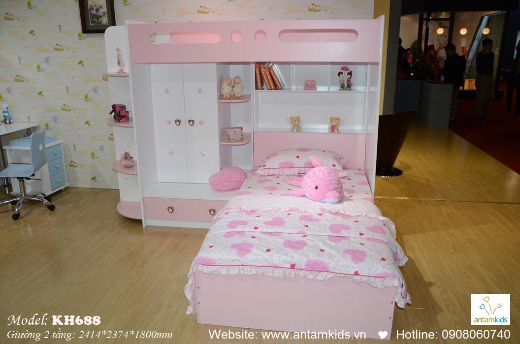 Giường tầng trẻ em KH688