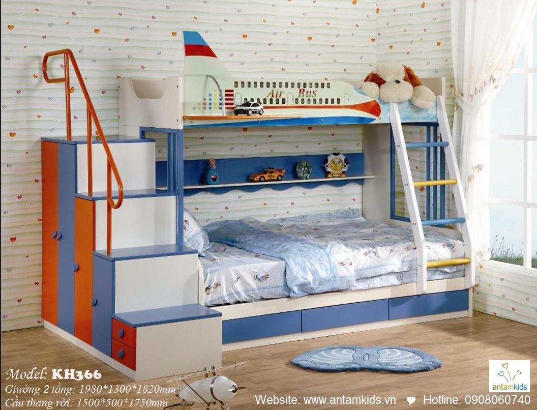 Giường tầng trẻ em KH366