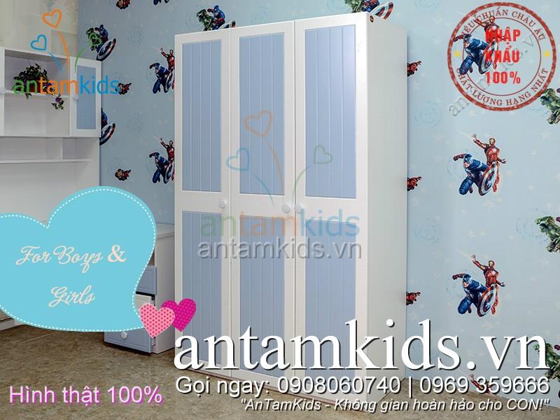 Phòng ngủ cho bé trai  antamkids