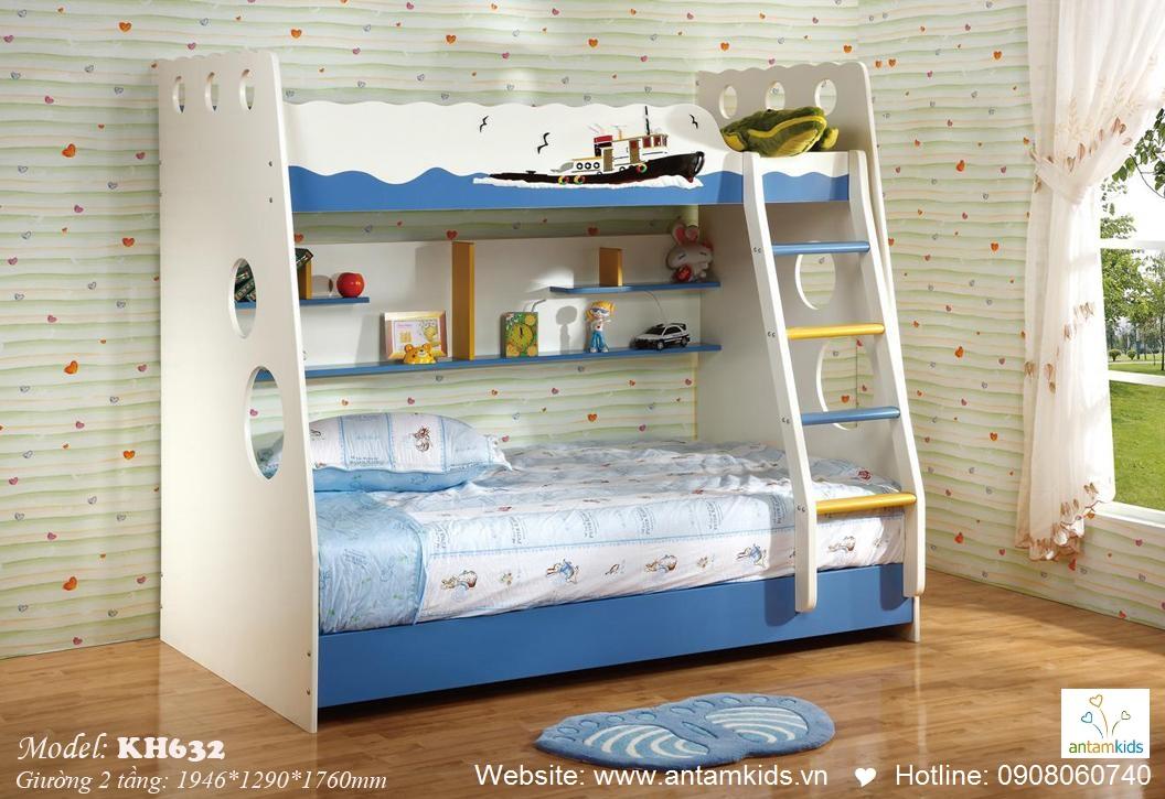 Giường tầng trẻ em KH632