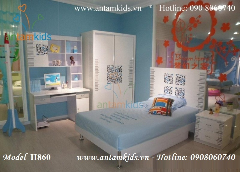 Bộ phòng ngủ cho bé H860