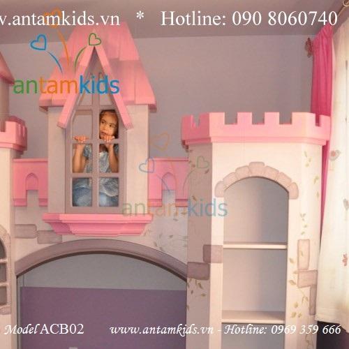 Giường lâu đài thiên thần Anatolia ACB02
