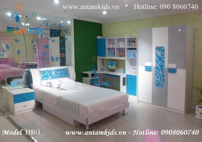 Bộ phòng ngủ trẻ em H861