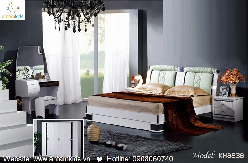 Phòng ngủ KH8838 đẹp & sang trọng | Noi That Phong Ngu AnTamKids