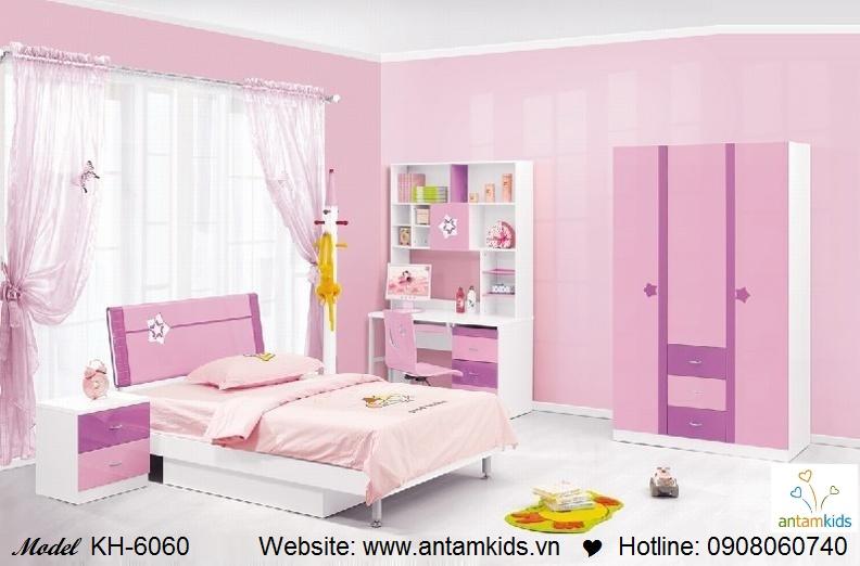 Phòng ngủ trẻ em KH-6060 đẹp thiên thần   PHONG TRE EM ANTAMKIDS