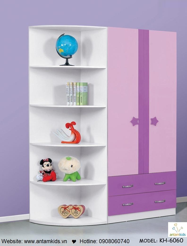 Phòng ngủ trẻ em KH-6060 đẹp thiên thần, Tu ao TRE EM ANTAMKIDS