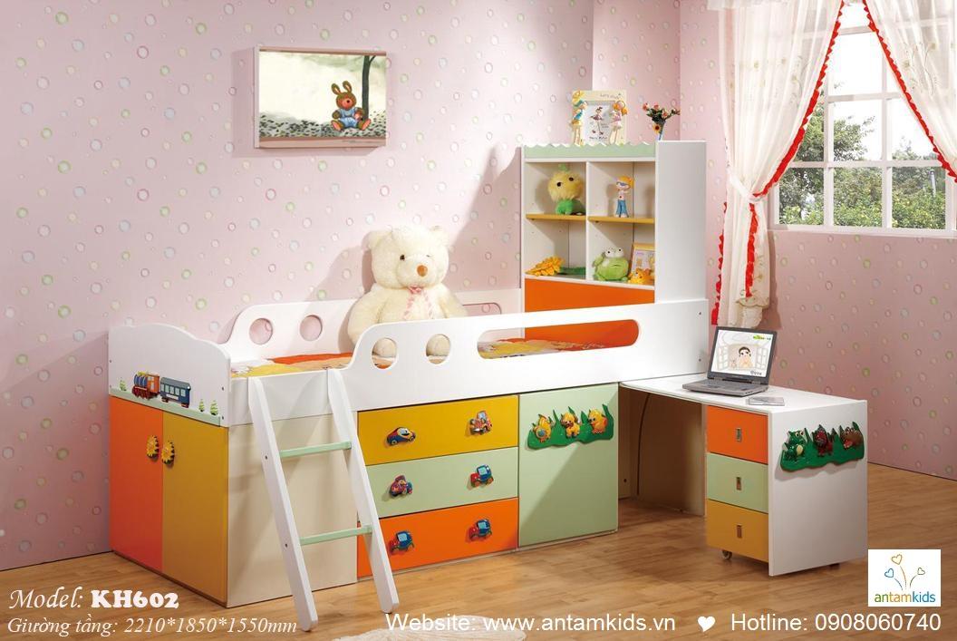 Giường tầng trẻ em KH602