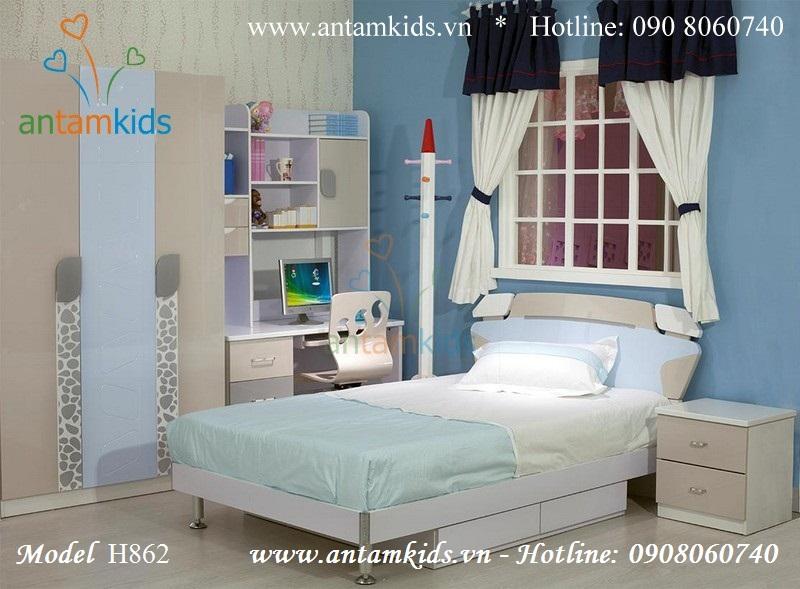Bộ phòng ngủ đẹp cho bé H862
