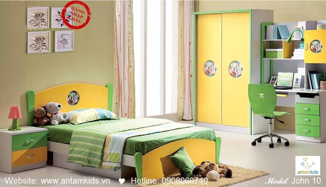 Phòng ngủ cho bé John 10 đẹp thiên thần   PHONG TRE EM ANTAMKIDS
