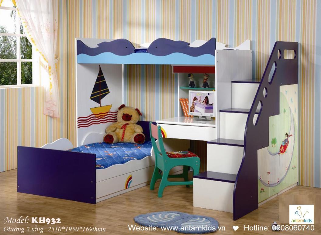 Giường tầng trẻ em KH932