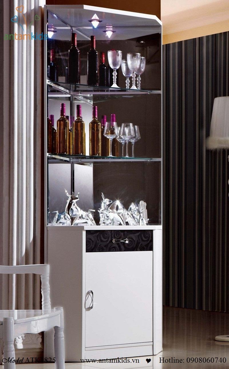 Tu ruou, tủ rượu, nội thất phòng ăn - AnTamKids.vn