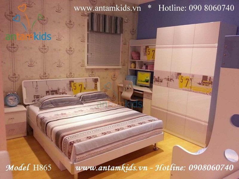 Bộ phòng ngủ cho bé H865