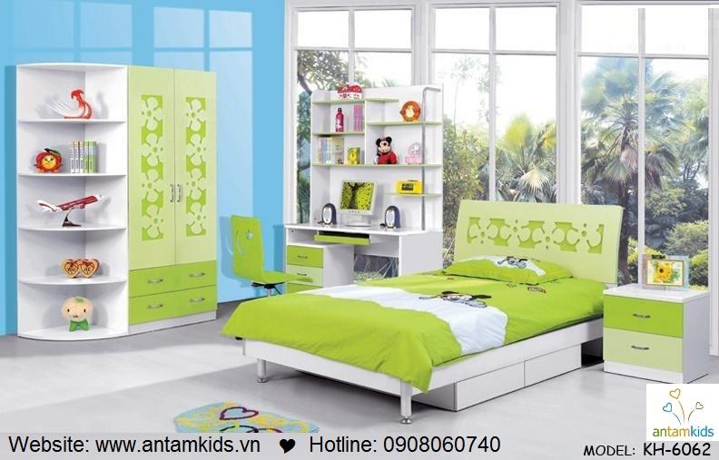 Phòng ngủ trẻ em KH-6062 đẹp thiên thần   PHONG TRE EM ANTAMKIDS