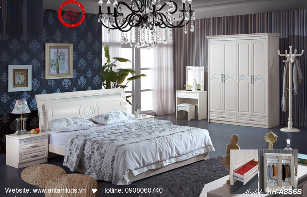 Phòng ngủ KH-A8868, noi that phong ngu, phong cuoi dep, noi that han quoc