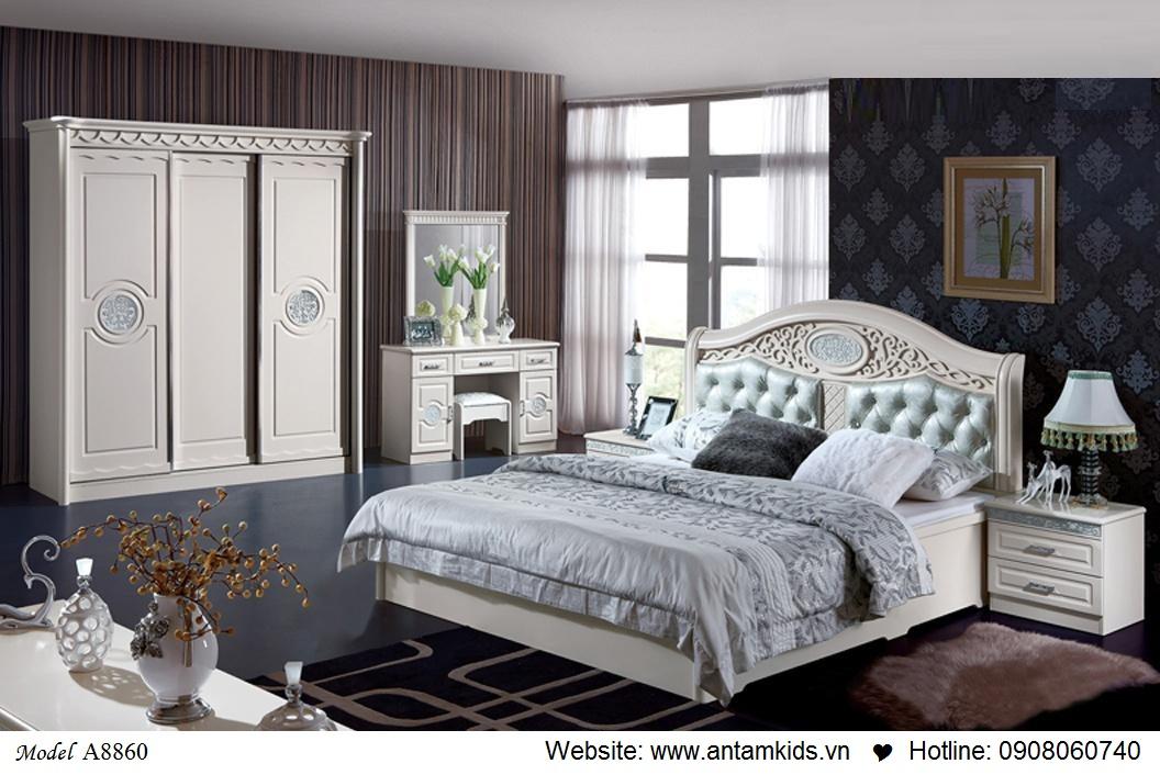 Phòng ngủ KH-A8860, noi that phong ngu, phong cuoi dep
