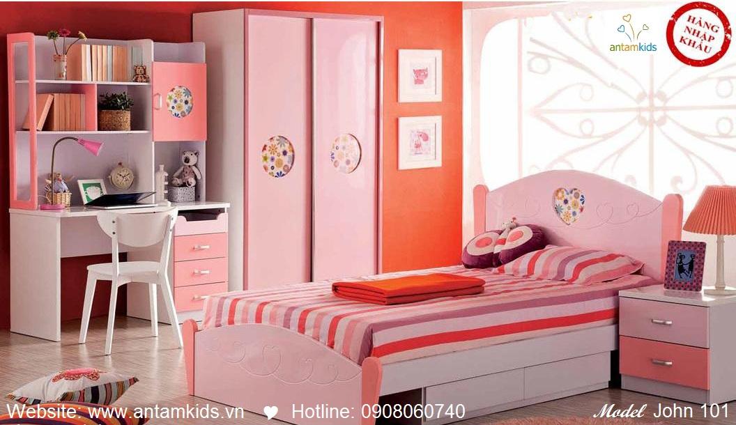 Phòng ngủ cho bé John 101 đẹp thiên thần   PHONG TRE EM ANTAMKIDS