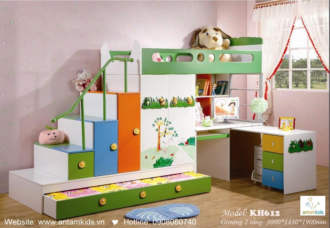 Giường tầng trẻ em KH612
