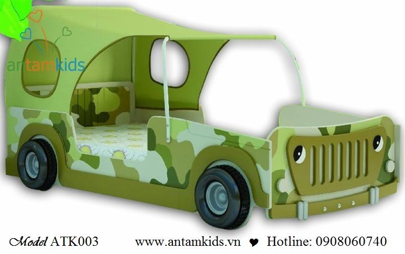 Giường xe ôtô ATK003 cho bé   AnTamkids.vn