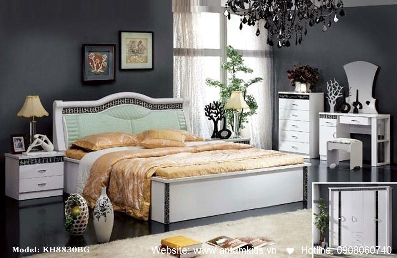 Phòng ngủ KH8830 đẹp & sang trọng | Noi That Phong Ngu AnTamKids