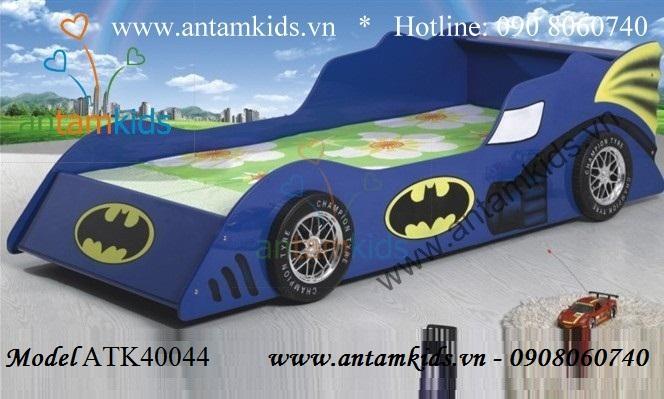 Giường xe hơi màu xanh ATK40044