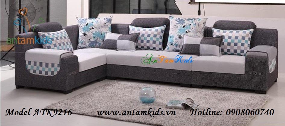 Sofa vải sang trọng hiện đại ATK9216