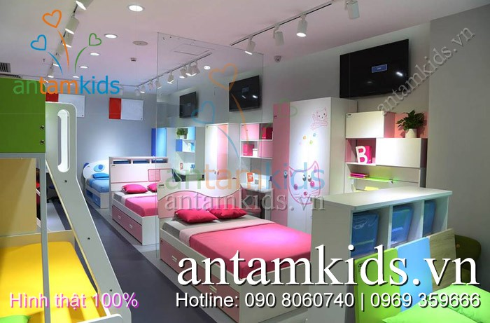 Phòng ngủ trẻ em cao cấp Tomy Niki