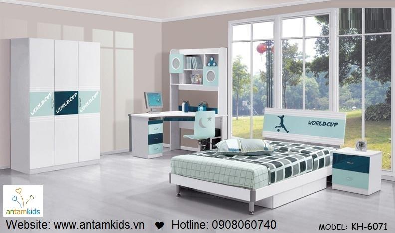 Phòng ngủ trẻ em KH-6071 đẹp thiên thần | PHONG TRE EM ANTAMKIDS