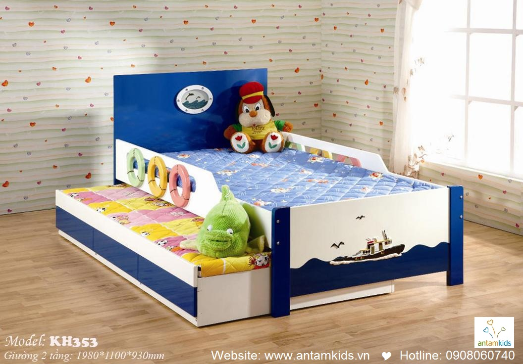 Giường tầng trẻ em KH353