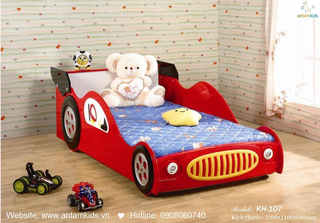 Giường tầng trẻ em KH-107, giuong tang tre em