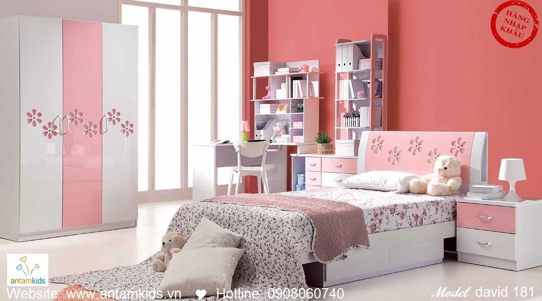 Phòng ngủ cho bé David 181 đẹp thiên thần | PHONG TRE EM ANTAMKIDS