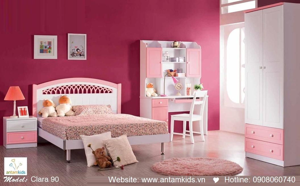 Phòng ngủ cho bé Clara 90 đẹp thiên thần   PHONG TRE EM ANTAMKIDS