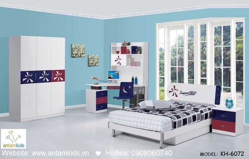 Phòng ngủ trẻ em KH-6072 đẹp thiên thần   PHONG TRE EM ANTAMKIDS