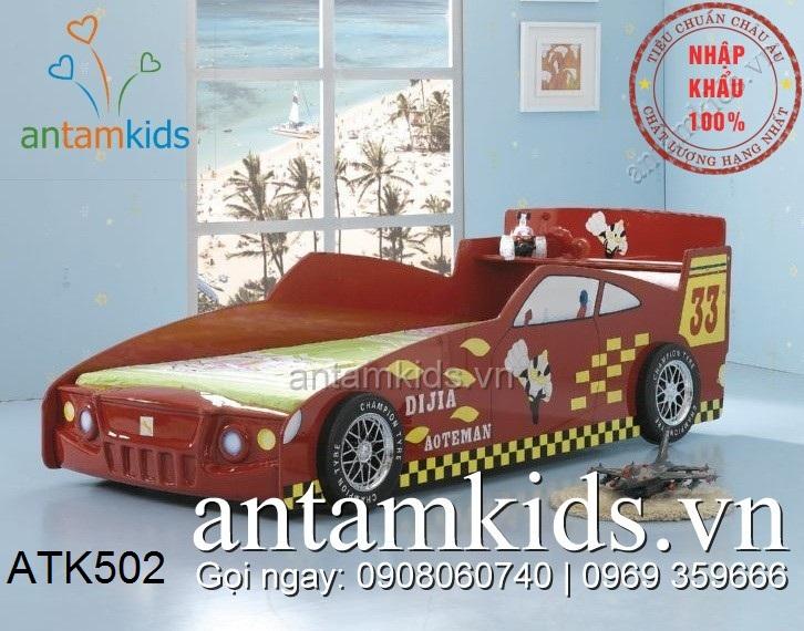 Giường xe ô tô cho bé trai, Giường xe ô tô, Giường xe ô tô trẻ em TOP 1