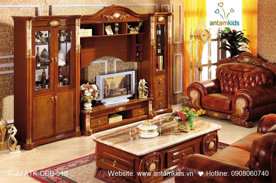 Bộ phòng khách cổ điển sang trọng đẳng cấp - AnTamKids.vn