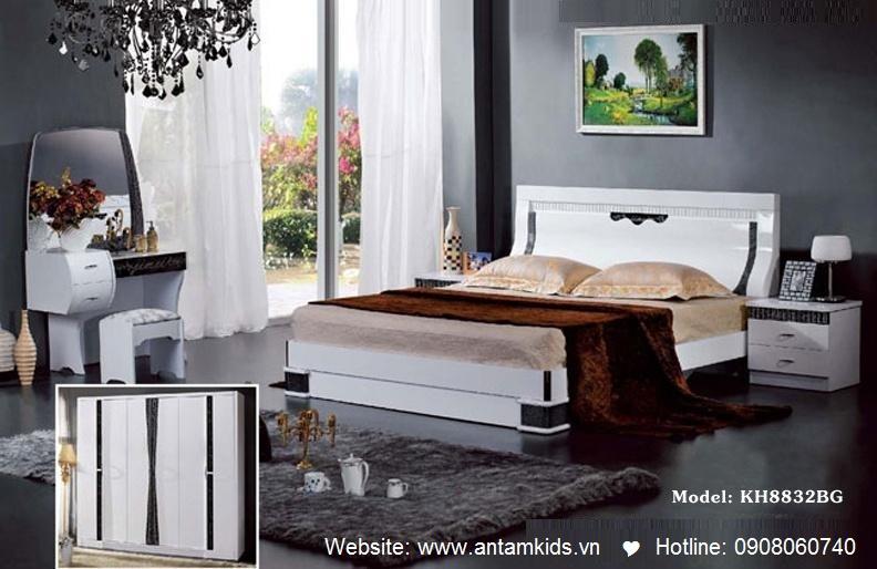 Phòng ngủ KH8832 đẹp & sang trọng   Noi That Phong Ngu AnTamKids