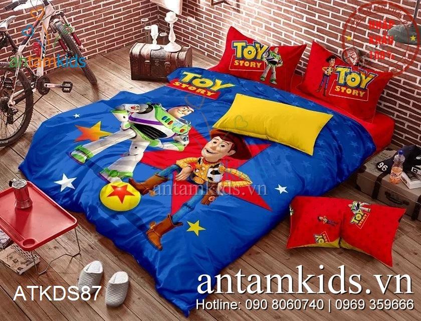 Bộ chăn ga gối Toy Story câu chuyện đồ chơi siêu ngọt ngào của Disney ATKDS87